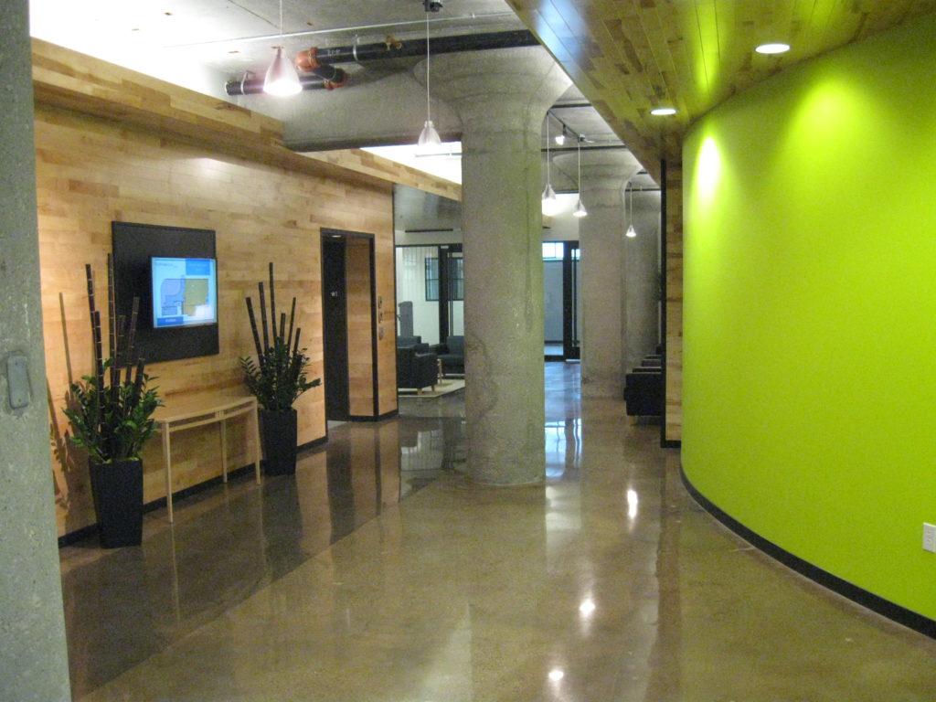 Deco Building Corridor