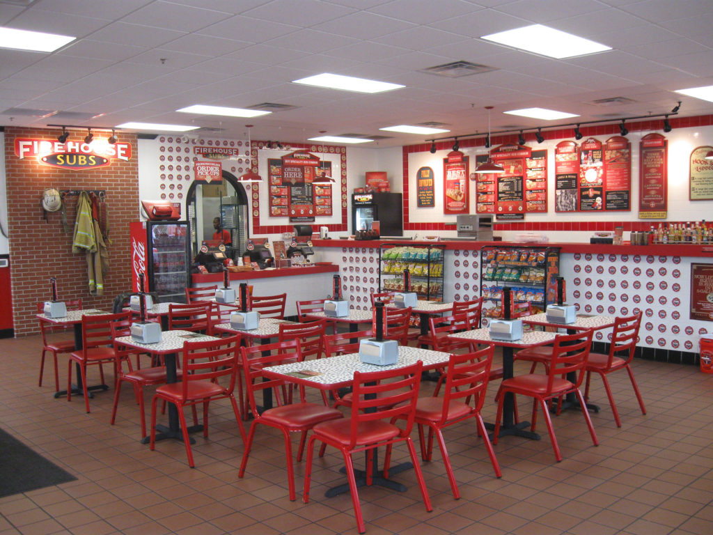 Firehouse Subs Dining